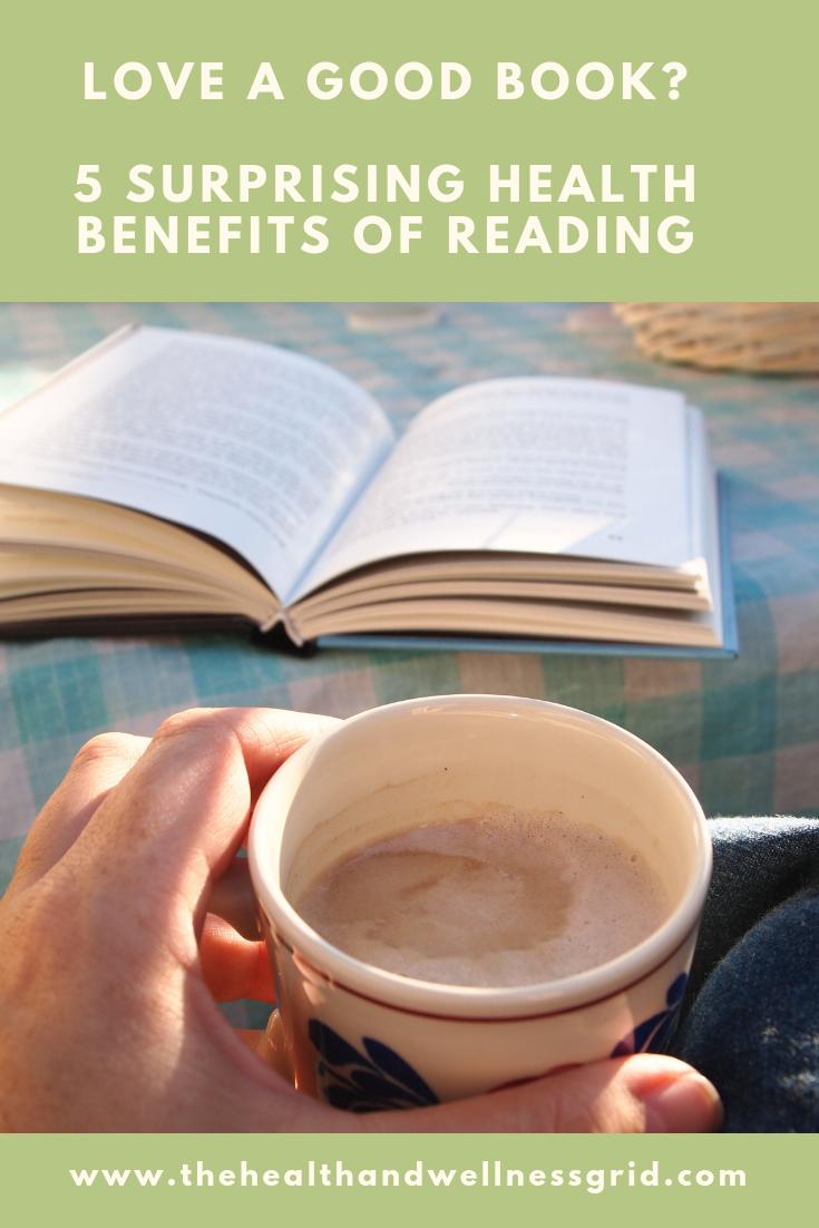 surprising health benefits of reading
