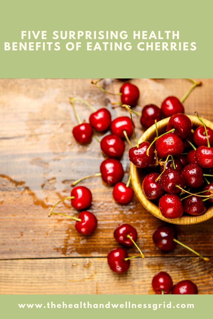 five health benefits of eating cherries