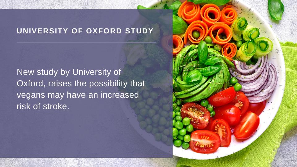 do vegans have increased risk of stroke